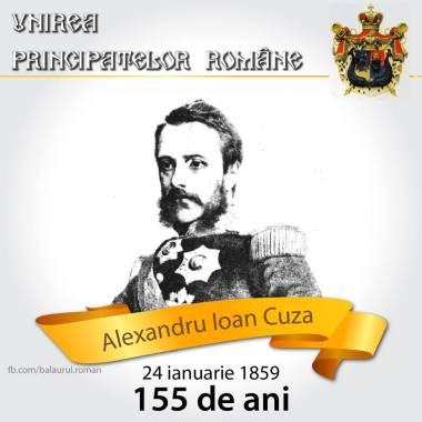 Alexandru Ioan Cuza 24 ianuarie 1859 mica unire romania mare moldova
