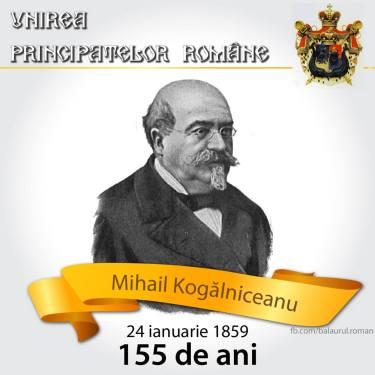 Mihail Kogălniceanu 24 ianuarie 1859 mica unire romania mare moldova