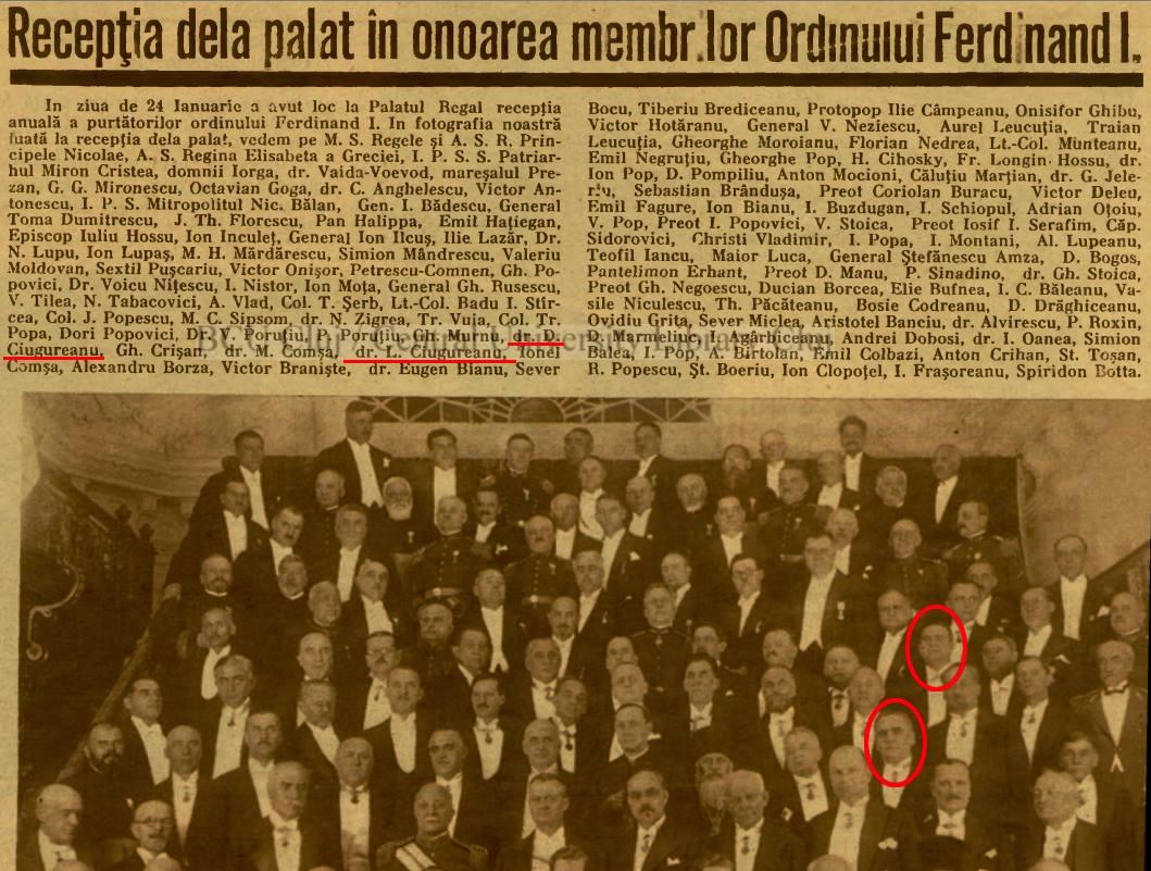 Familia regal rom n mpreun cu elita politic rom neasc la 24 ianuarie 1934 bucure ti - Houses romanias political leaders ...