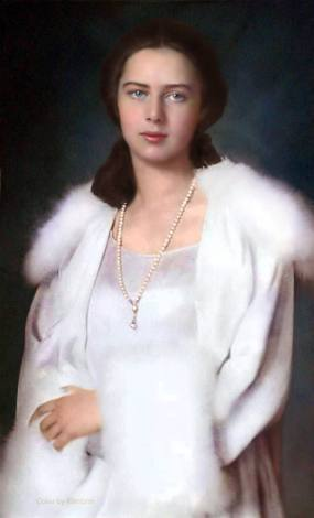 Princess-Ileana-of-Romania-colorize-royal-house-Mother-Alexandra-Queen-Victoria-Czar-Alexander-casa-regala-romana