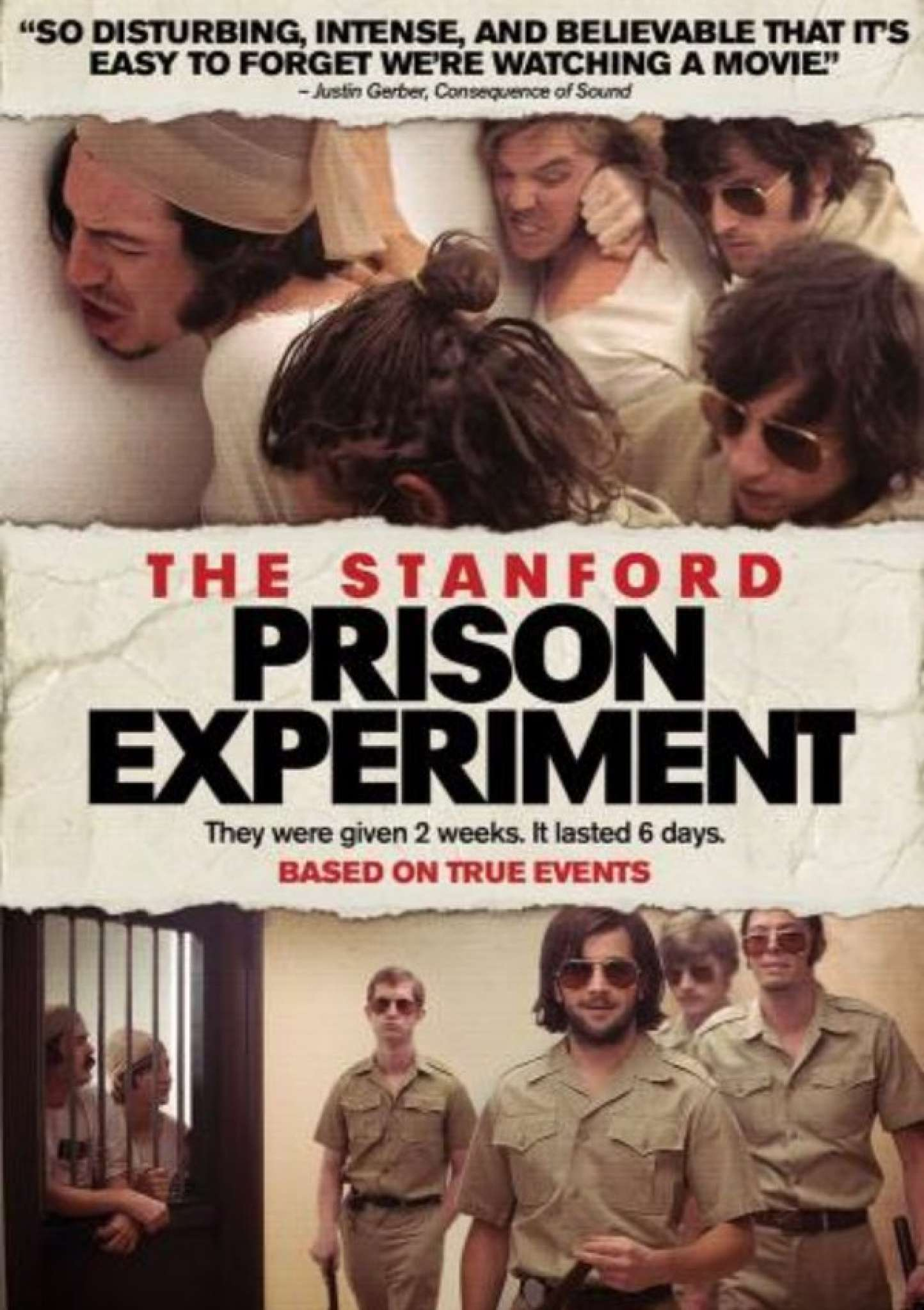 "standford prison experiment Now a major film, to be released this week, decades after the ""experiment."