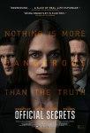 Official Secrets Secrete oficiale 2019 movie a spy film war in iraq Keira Knightley Matthew Goode Ralph Fiennes whistleblower KatharineGun